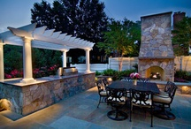 Outdoor Kitchens / Outdoor Kitchens are very popular, for those staycationing at home nowadays, this is a must have especially for the entertainer.