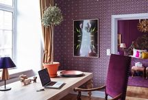 Study and Home Office Spaces / A little inspiration for the space that inspires you to work and study.