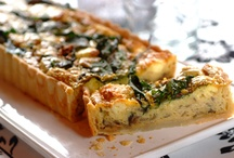 Food - Savoury Quiches, Tarts, Soups, Dips etc