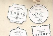 Label Design / Wine label research.