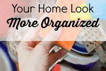 Home organisation / an organised home is a peaceful home!!