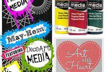 Mixed Media Sizzix Projects