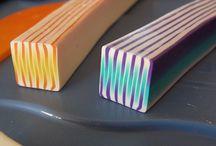 Polymer Clay - Tutoriels & Patrons / by Thérèse Gilbert