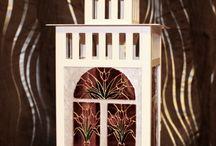 Stained-glass paintings / мои работы в технике виражной росписи