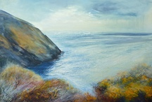 Art by Sue Read / Original Art work by Sue Read. Cornish Artist based in Bude working in Acrylics, Oils and mixed media.