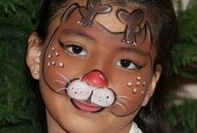 Natale face painting
