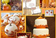 Fall wedding charm