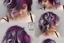 hiukset ja kampaukset ja kauneus