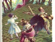 Alice in W:Justin Todd / Alice in wonderland (illustrator)