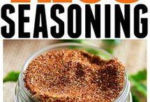 Seasonings, Herbs & Marinades