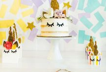 DIY Unicorn Party Ideas / A collection of Unicorn party ideas, games, treats and crafts!
