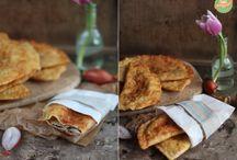 Brotiges / Abgeguckte Gerichte mit Brot oder Teig