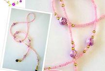 Oggetti tessitura di perline
