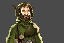 Classic RPG Character Design