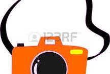 macchine fotografiche disegnate