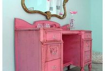 pink isn't just pink / variations of pink furniture
