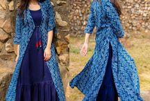 gaun india kasual