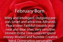 February my birth month