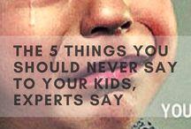 Be careful of what u say w kids