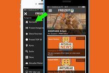 Freizeit App / Hier findest du ein paar Fotos von unserer FREIZEIT App.