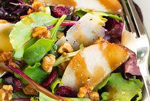 Salads / Salads, crunchy & fresh