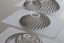 Paper Art Structures