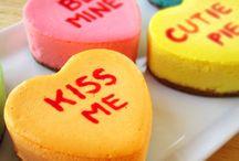 Valentines Day Conversation Hearts / Valentines Day Conversations Hearts party theme, food, and decorations.