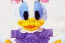 Baby Daisy Duck crochet