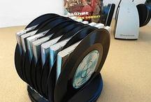 Recycler des vieux vinyles
