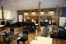 Indretning - restaurant - hotel / Indretningsidéer til hotel og restaurant