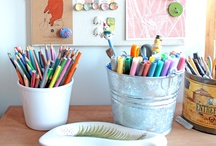 Artistically Homeschooling / Find ideas, hints, and curriculum for teaching homeschool art. / by Lamp Post Homeschool