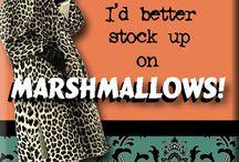 Marshmallo.w / by Juliana Alves