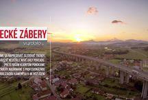 Letecké zábery / Vtáčia perspektíva nepochybne patrí k profesionálnym výsledkom vo videoprodukcii a preto našim klientom ponúkame aj zábery zo vzduchu nasnímané s profesionálnou stabilizáciou kamery a v 4K rozlíšení.