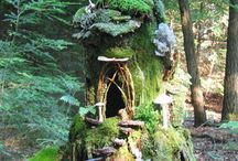 I Don't Know Why I Like This... But I Do / Fairy Garden Ideas - <3