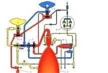 schematy silników