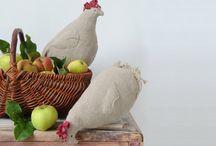 poules et autres / by isabelle levine