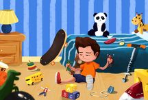 The Prince Of Toys And Food / Children's Picture Book On How To Appreciate The Things You Have