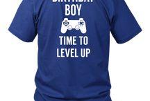 Boy Video Game Birthday Party Tshirt