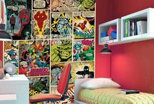 On Trend: Comic Con / It's over for another year... If you've got the Comic Con blues try reinvigorating your interior with bold colors like 'Berry', 'Mead' and 'Delft' from our 'Westend Velvet' collection and and transform your room into a comic book inspired living space.  http://www.westexcarpets.co.uk/domestic-westend-velvet-collection-carpets Please find ideas for wham, bam and pow 'ing up your home below.  #sdcc15 #comic #home #interiors #nerd #homedecor