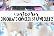 Unicorn babyshower treats