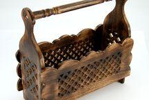 Ethno- furniture (Etno-meble i mebelki) / Sprzęty domowe - drewniane, orientalne
