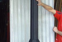 Columnas de hierro / Tiene para su jardín, COLUMNAS? todo en CARRARA http://www.carrarademoliciones.com.uy/ 22 03 52 17 / 22 00 68 11