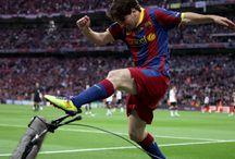 Lionel Messi / El Dios del Fútbol / by @Images 010