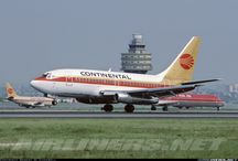 Continental Airlines / by Mel Henderson