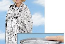 Coleman / Use for Emergency Blankets in Cold, Winter & while travelling