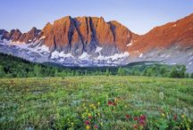 Kootenay Splendour / I was born in the majestic and eerie region of British Columbia know as The Kootenays. From these pictures, it's easy to see why a soul would be unable to resist rebirth in these mountainous, lake-filled climbs!