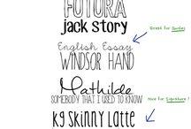 Design, Fonts & Printables