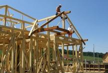 Constructii case din lemn / Portofoliu lucrari cu galerii poze si video prezentand case din lemn ecologice construite de firma BARAT System Harghita