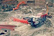 Recycled aggregate production