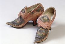 Antique Shoes and Hats